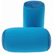 Microbead Neck Roll Bolster Pillow