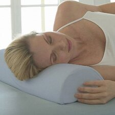 4-in-1 Soft Half Moon Bolster Memory Foam Neck Pillow