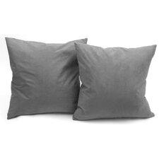 Microsuede Throw Pillow (Set of 2)