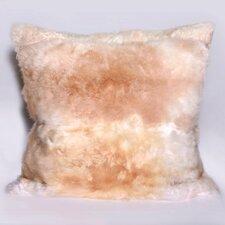 Alpaca Fur Natural/Organic Throw Pillow