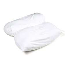 Petite Multi Postion Reading in Bed Pillow with Configurable Micro Cover