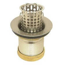 Standard Bar Sink Strainer with Lift Out Basket