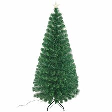 6' Artificial Christmas Tree with LED Lights