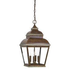 Mossoro 4 Light Outdoor Hanging Lantern