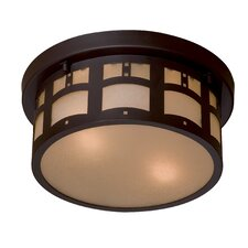 Harveston Manor 2 Light Flush Mount