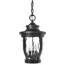 Merrimack 3 Light Outdoor Hanging Lantern