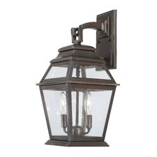 Crossroads Point 2 Light Wall Lantern
