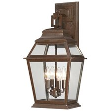 Crossroads Point 4 Light Wall Lantern