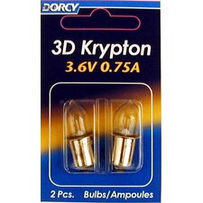 3.6-Volt Krypton Light Bulb (Set of 2)