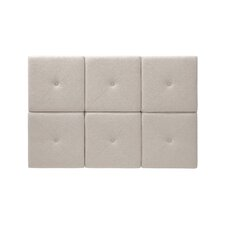 Tessa Upholstered Headboard Tiles in Beige