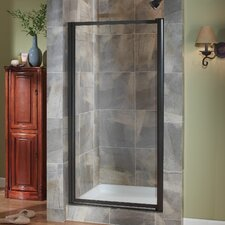"Tides 65"" x 23""-25"" Framed Pivot Shower Door"