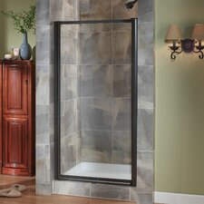 "Tides 65"" x 33""-35"" Framed Pivot Shower Door"