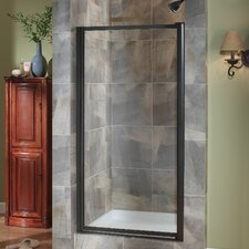 "Tides 65"" x 31""-33"" Framed Pivot Shower Door"