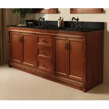 "Naples 60"" Double Bathroom Vanity Base"