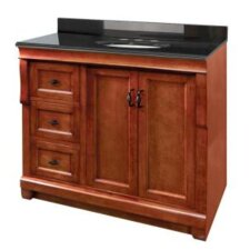 "Naples 36"" Bathroom Vanity Base with Left Drawers-Cabinet Only"