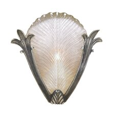 One Light Half Wall Sconce in Brass
