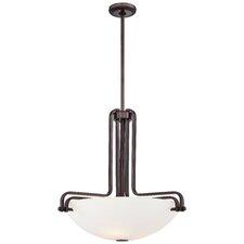 Industrial 3 Light Bowl Pendant