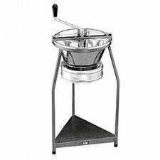Pro Tinned Steel 15-Quart Food Mill On Stand