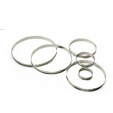 "4"" Pastry Ring Tart (Set of 4)"