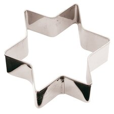 Stainless Steel Star Cookie Cutter (Set of 10)