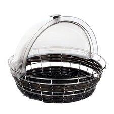 Round Polyrattan Bread Basket