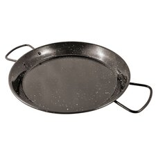 "6"" Enamel Steel Paella Pan (Set of 2)"