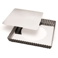 Square Tart Pan with Removable Bottom (Set of 2)