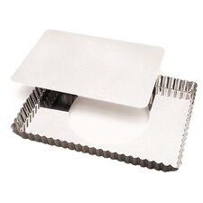 Rectangle Tart Pan with Removable Bottom (Set of 2)