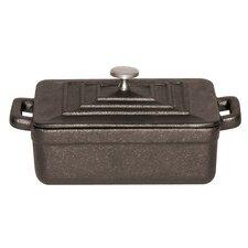 Tabletop Cookware 0.01 Qt. Cast Iron Rectangular Casserole (Set of 3)