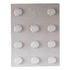 "1.13"" Praline Flower Chocolate Mold"