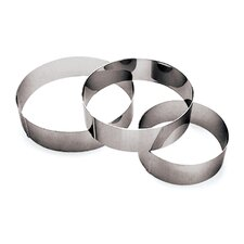 """2.38"""" Ice Cake Pastry Ring (Set of 3)"""