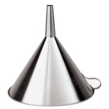 """11.88"""" Stainless Steel Funnel"""