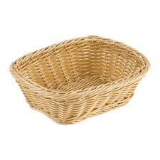 Rectangular Polyrattan Bread Basket (Set of 2)