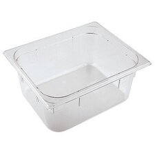 20.88 x 12.75 Inch Polycarbonate Hotel Food Pan (Set of 2)
