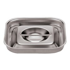 Lid for Bain-Marie in Silver