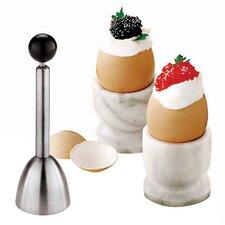 Stainless Steel Egg Topper (Set of 2)