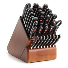 Classic 36 Piece Cherry Knife Block Set