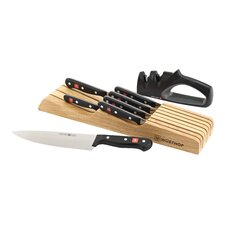 Gourmet 10 Piece In Drawer Knife Set