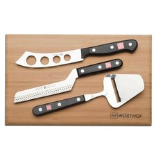 Gourmet 4 Piece Knife Cheese Set