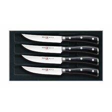 Classic Ikon Steak Knives Set (Set of 4)