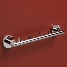 Varuna Wall Mounted Five-Hook Towel Bar
