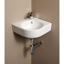 Elements Comprimo Corner Bathroom Sink