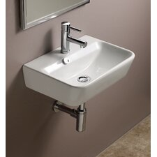 Emma Ceramic Wall Hung Bathroom Sink