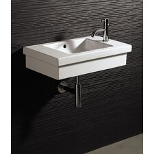 Area Boutique Logic 60 Porcelain Bathroom Sink with Overflow