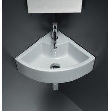 Area Boutique Ice Corner Ceramic Bathroom Sink