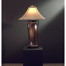 "34.25"" H Table Lamp with Bell Shade"