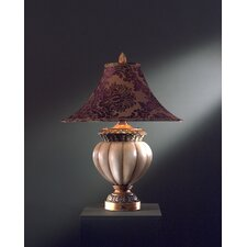 "Traditional 31.5"" H Table Lamp with Bell Shade"