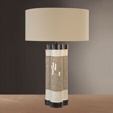 "29.5"" H Table Lamp with Drum Shade"