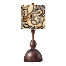 "35"" H Table Lamp with Drum Shade"
