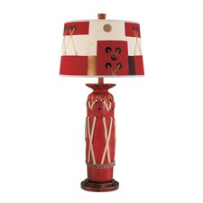 "32.25"" H Table Lamp with Empire Shade"